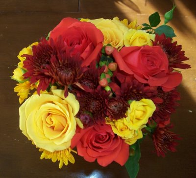 Simple Wedding Bouquet Ideas on Simple Fall Wedding Bouquets