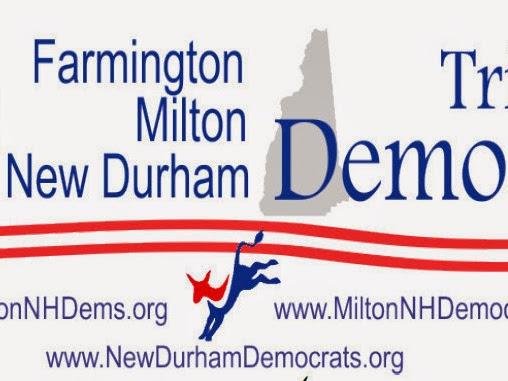 Tri Town Democrats Meeting-July 10th 7PM Milton