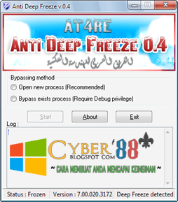 Anda Lupa Password Deep Freeze ?? Ini Solusinya