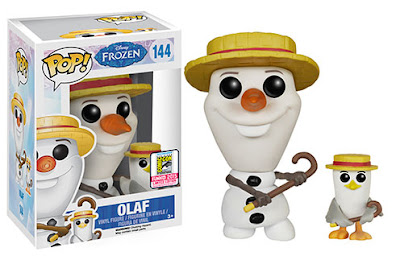 "San Diego Comic-Con 2015 Exclusive ""Barbershop Quartet"" Olaf Pop! Disney Vinyl Figure by Funko"
