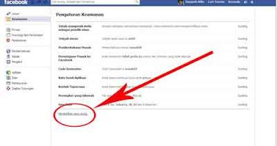Cara Menonktifkan akun facebook Sementara waktu