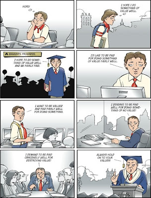 Doonesbury - A Banker's Progress