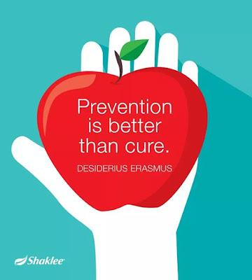 Mencegah adalah lebih baik daripada mengubati