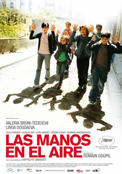 Poster de Las manos en el aire