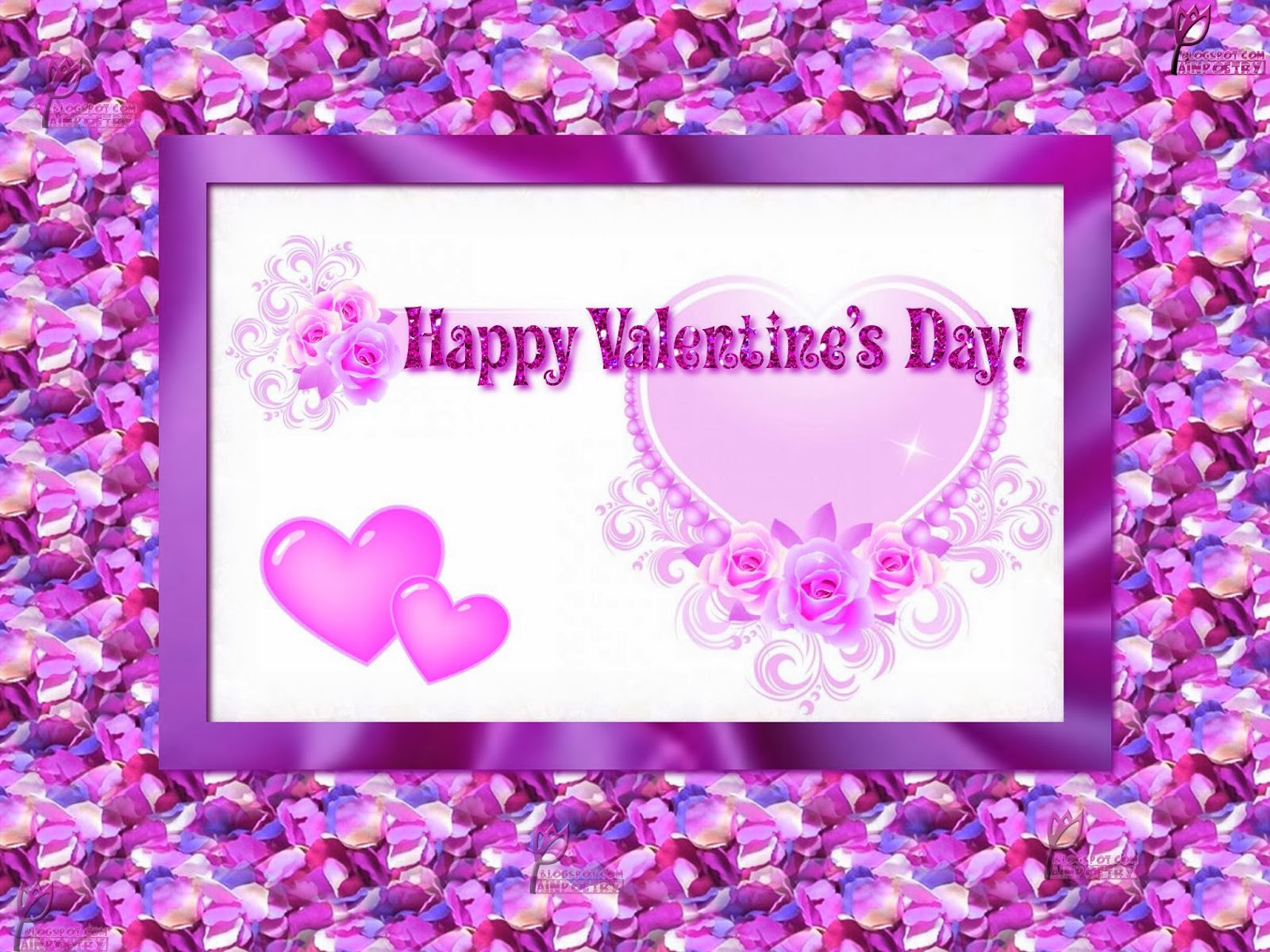 Valentines Day Wishes Image Wallpaper Photo HD Wide