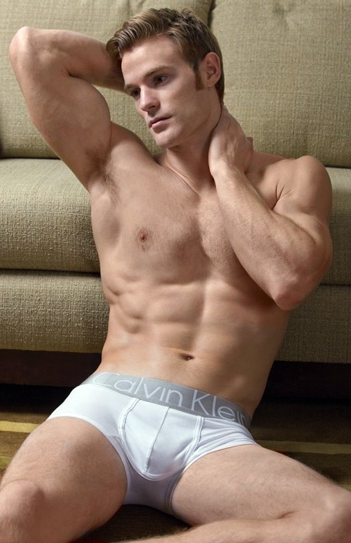 nude Male model on