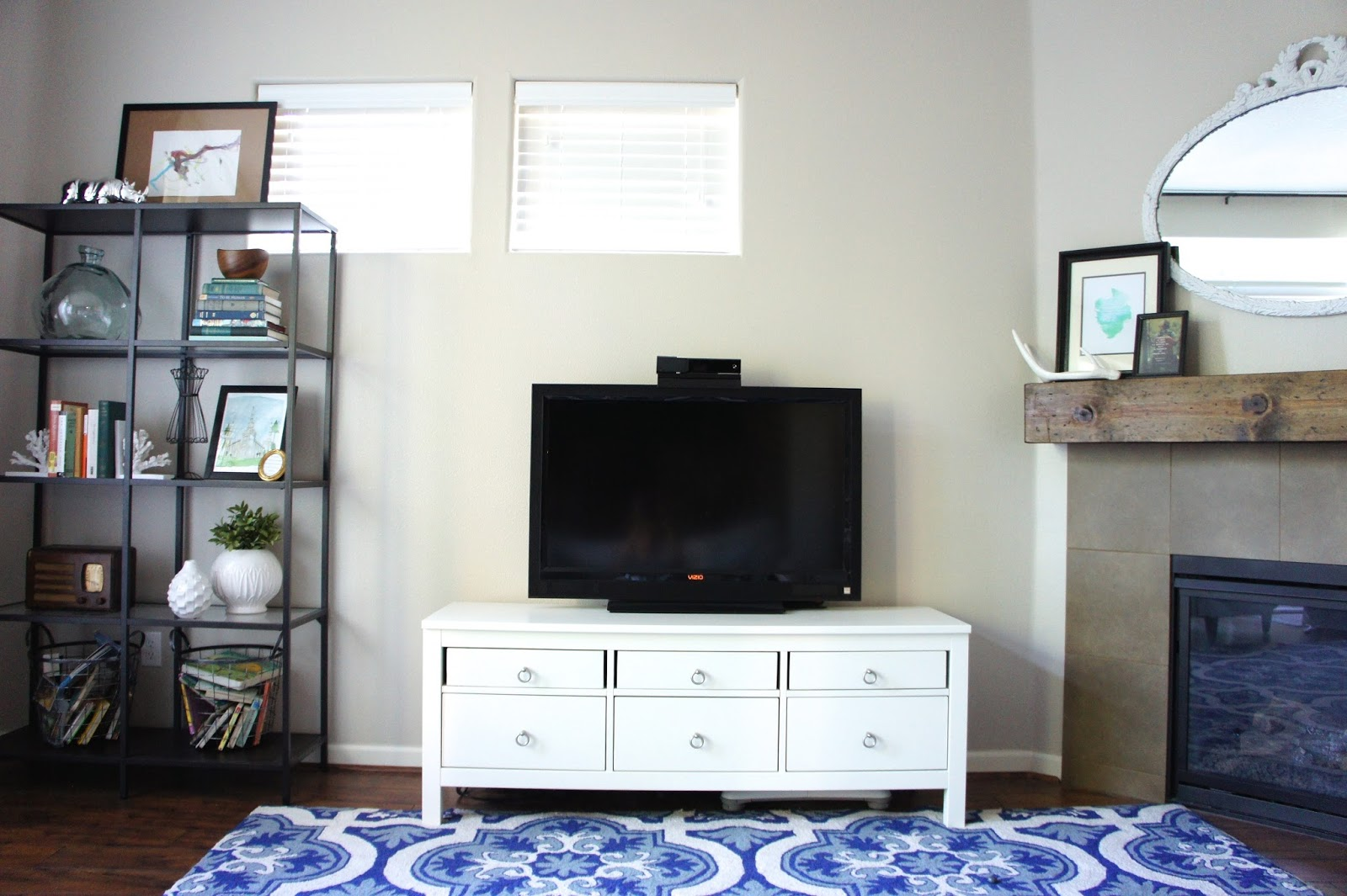 Pretty Dubs IKEA HEMNES HACK TV UNIT MAKEOVER