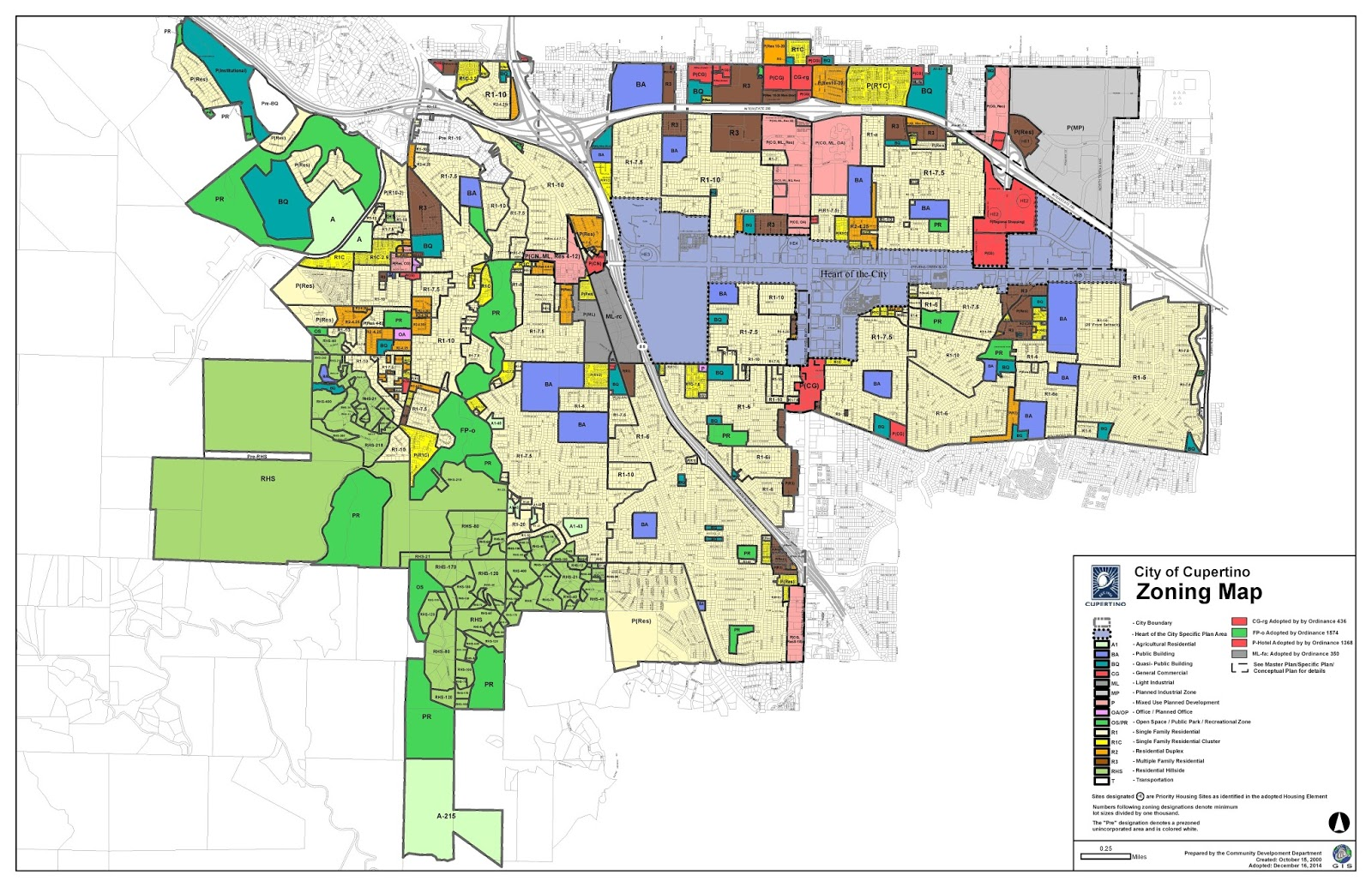 Amazing City Of San Jose Zoning Map Pictures - Printable Map - New ...