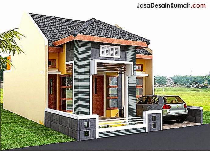 Contoh Gambar Rumah Sederhana Minimalis Terbaru 2014  Trend 2015