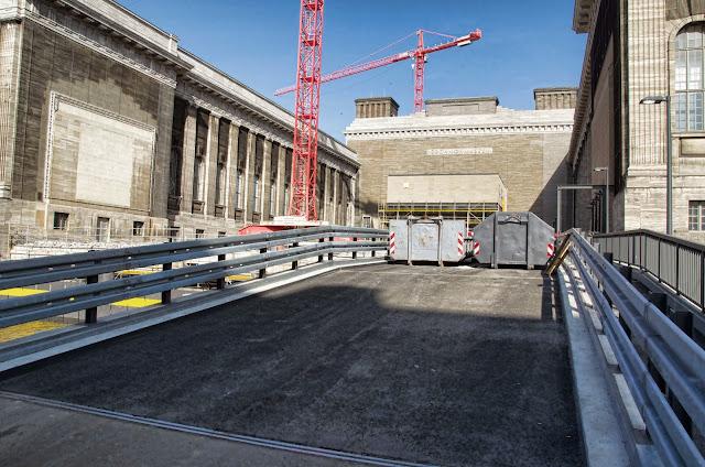 Baustelle Eingang Pergamon Museum, Am Kupfergraben, Bodestraße 1-3, 10178 Berlin, 10.03.2014