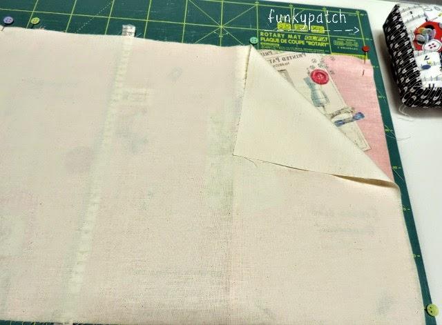 Paso a paso cómo hacer una funda de tela para carpeta