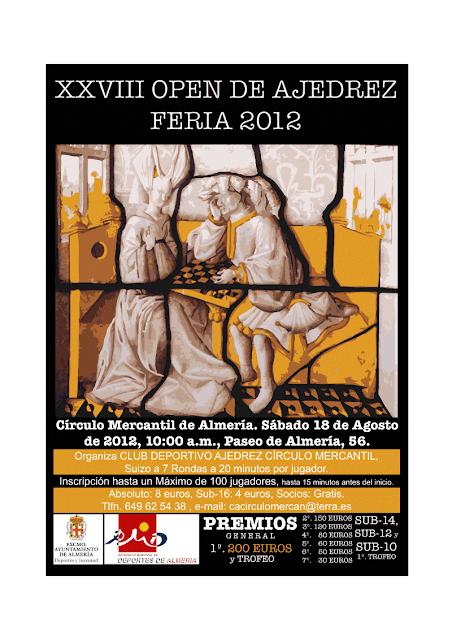 EL OPEN DE FERIA, SERÁ EL PRÓXIMO SÁBADO 18 DE AGOSTO