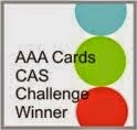 I won at AAA cards challenge