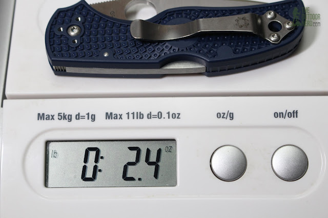 Spyderco Native 5 FRN S110V EDC Pocket Knife - Scale