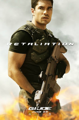 G.I. Joe Retaliation Character Movie Poster Set 1 - D.J. Cotrona as Flint