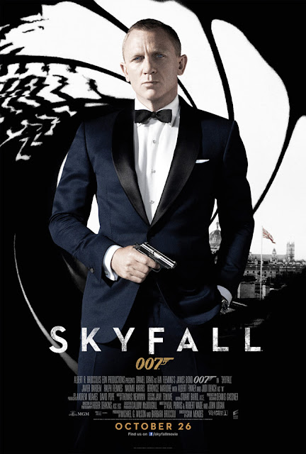 Skyfall (2012), 23rd James Bond film, Directed by Sam Mendes, starring Daniel Craig
