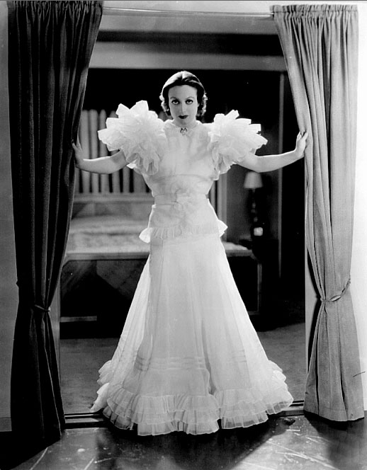Ruffles Across the Eras ~ 1930s #vintage #fashion #1930s #ruffle #dress