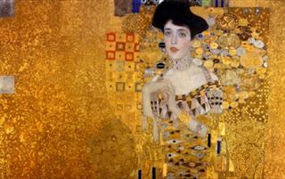 «Portrait of Adele Bloch-Bauer I», Gustav Klimt, 1907