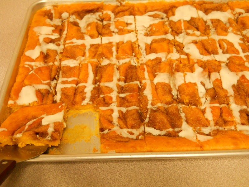 Beth's Favorite Recipes: Cinnamon Roll Pumpkin Vanilla ...