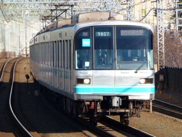 東京急行電鉄 急行 武蔵小杉行き2 東京メトロ9000系(平日1本運行)