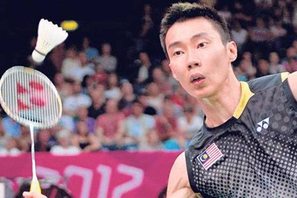 lee chong wei final badminton olimpik 2012
