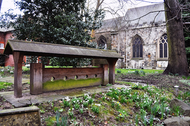 Stocks at Priory Church of the Holy Trinity in York