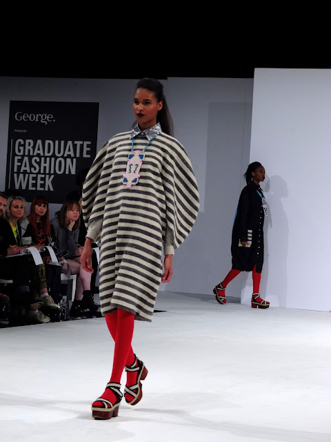 Harriett Van Reenan  FUB GFW black and white stripes