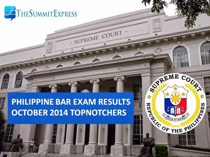 Philippine bar exam October 2014