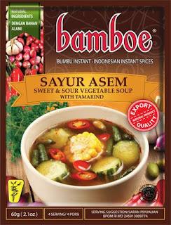 bumbu instan sayur asem bamboe