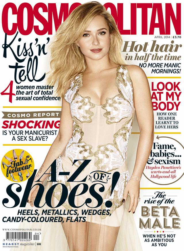 Hayden Panettiere para la revista Cosmopolitan abril 2014