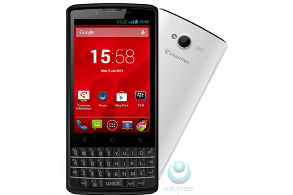 Spesification and price Andromax G2 QWERTY