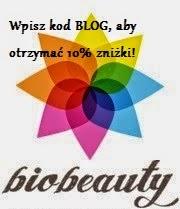 Wpisz kod BLOG a otrzymasz 10% zniżki na Bio-beauty