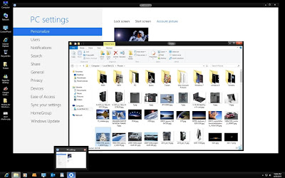 Windows 8 Karanlık Tema
