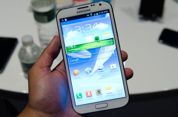 Galaxy Note 2 android