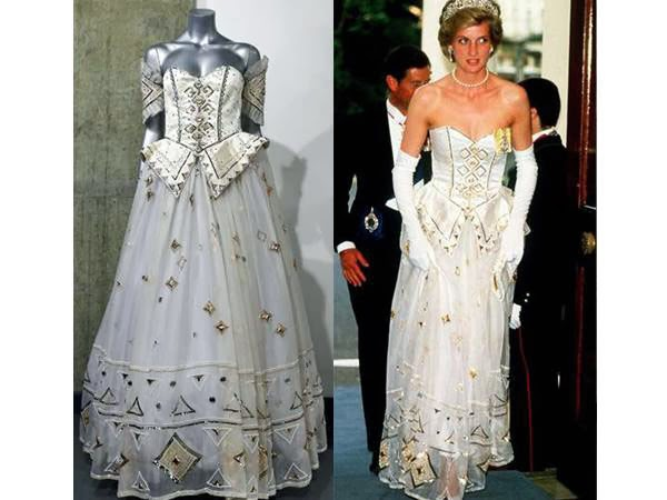 Princess Diana's gown sells for USD 140,000 at auction, UK, Car, Visit, Gold, World,Malayalam News,
