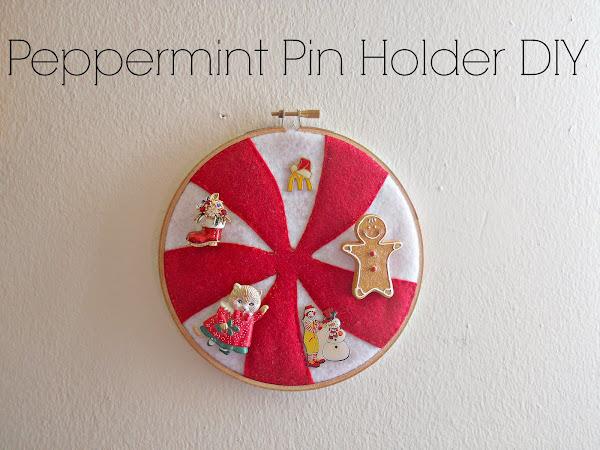 Peppermint Pin Holder DIY