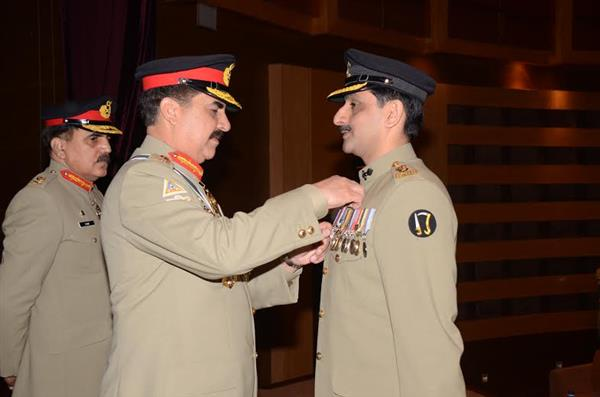 Investiture Ceremony At GHQ Rawalpindi