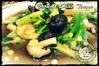 Cara Membuat Brokoli Saus Tiram Rasa Mantap