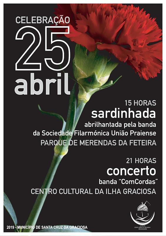 Celebrações do 25 de Abril