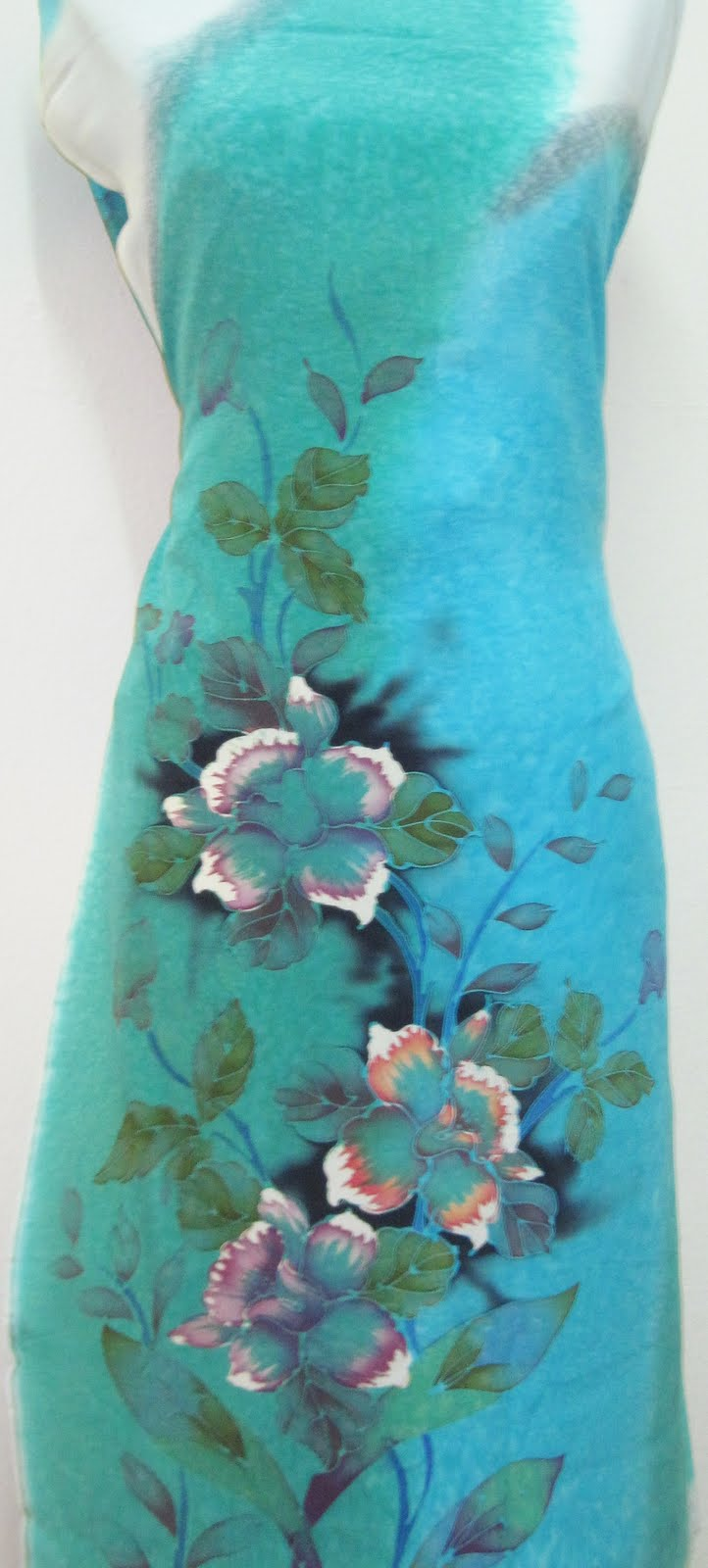 Pin Batik Sutera Crepe Abstrak Silky Terengganu on Pinterest