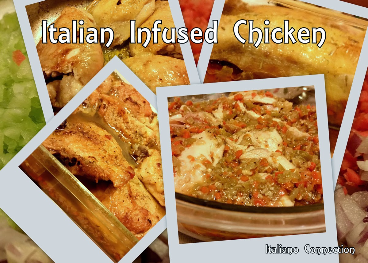 Italian Infused Chicken Recipe