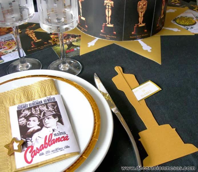 decoracion mesa cine 18 cumpleaños