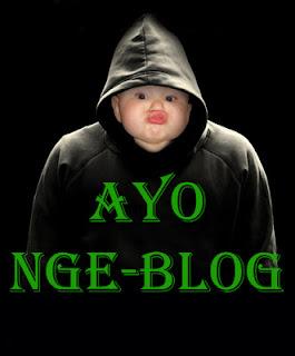 bayi lucu ngeblog