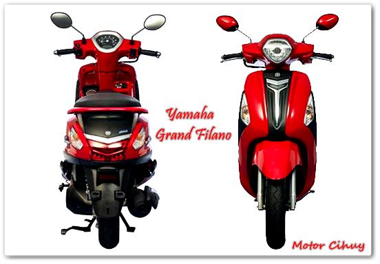 Harga Yamaha Grand Filano 2015