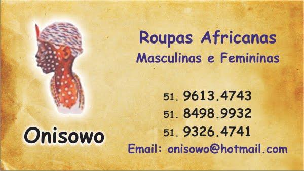Onisowo - Roupas Africanas
