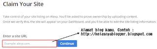 Mengenal Alexa dan apa manfaatnya (Lengkap dengan tutorial mendaftar Blog ke Alexa rank)