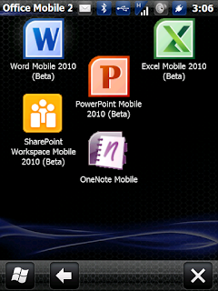 Microsoft Office mobile versions