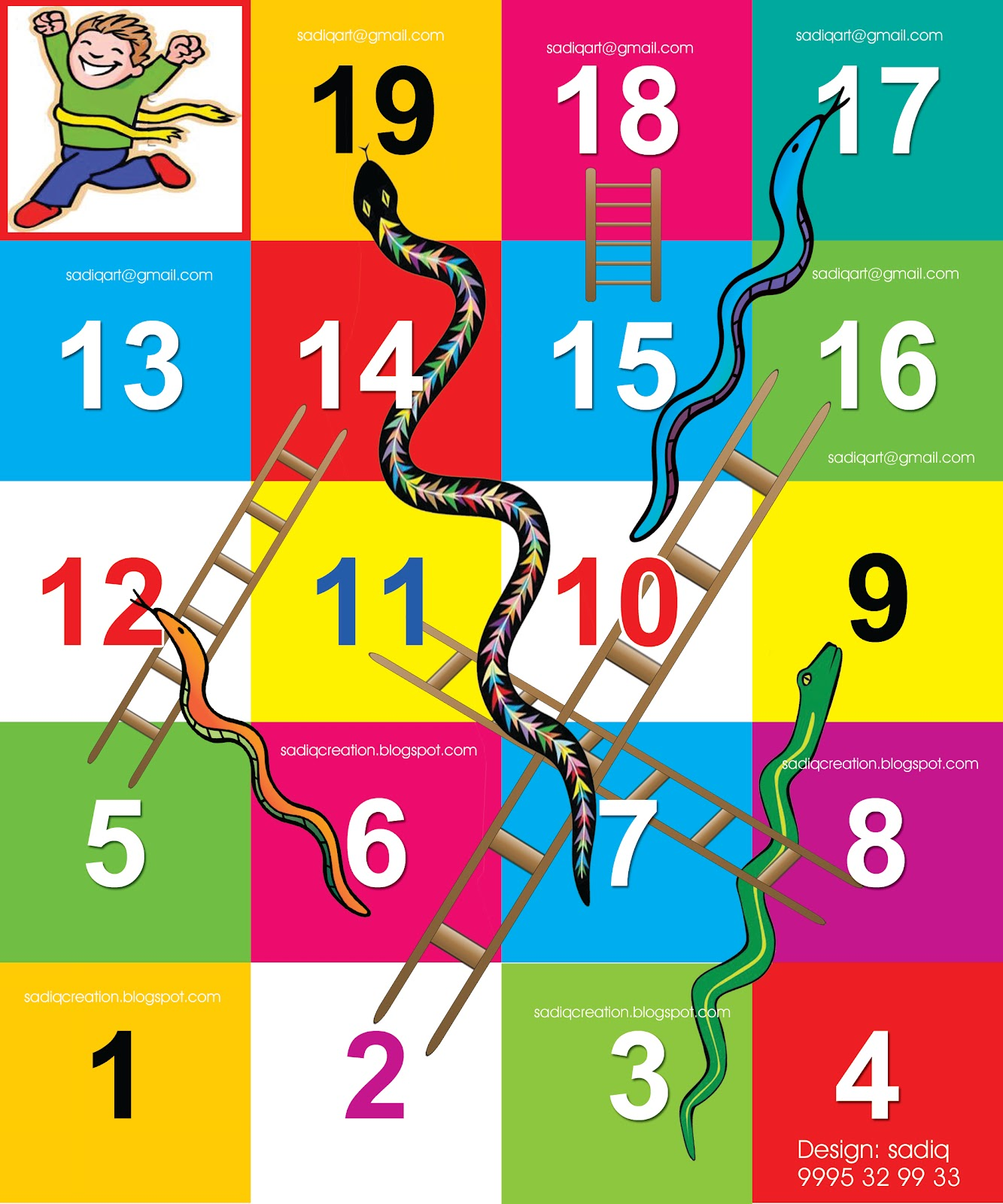... and ladders game board free printable snakes and ladders game snakes