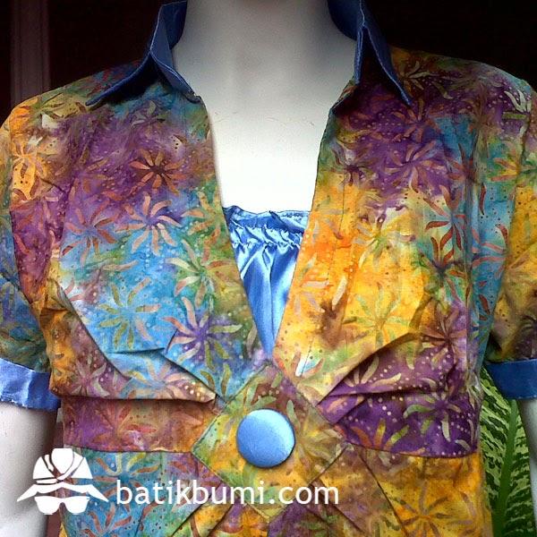 Model Baju Batik Wanita Modern Terbaru Artikel Tentang Batik