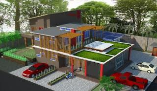 Model Datar untuk Atap Rumah Minimalis